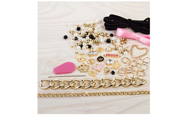 Juicy Couture DIY Chain and Charm Bracelet Kit items