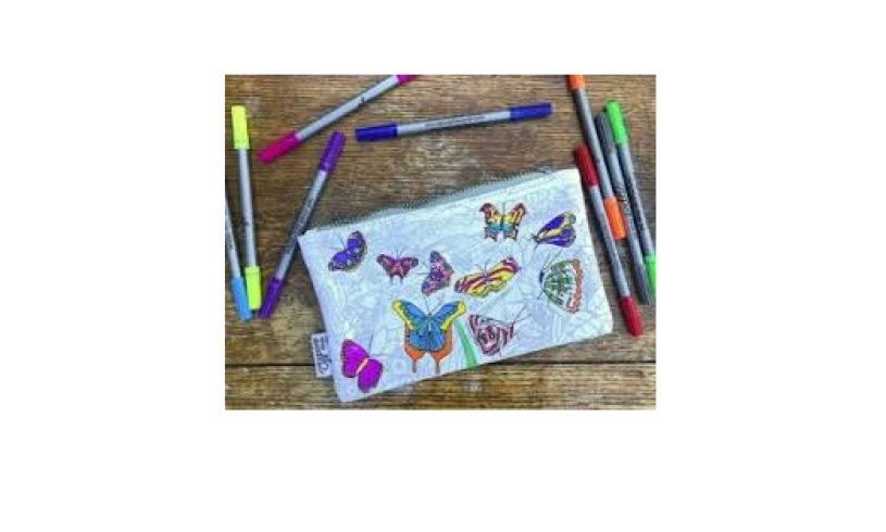Butterfly Pencil Case