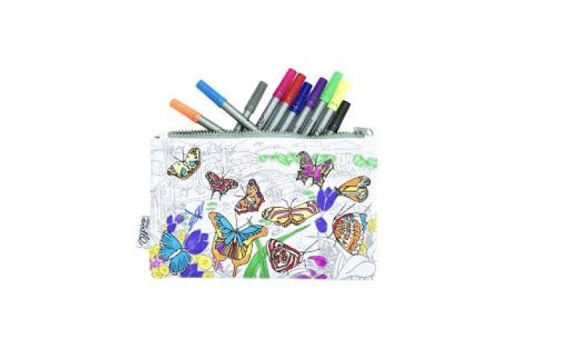 Butterfly Pencil Case Detail