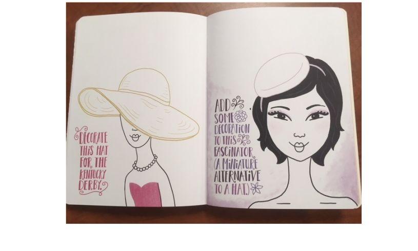Fashion Doodles Hats