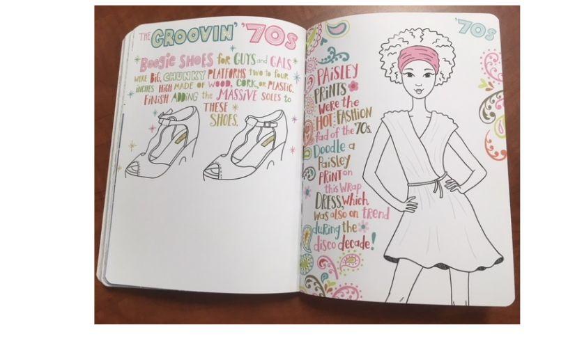 Fashion Doodles 70s