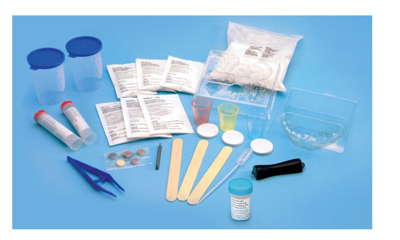 Crystal Growing Kit - Glow in the Dark Contents