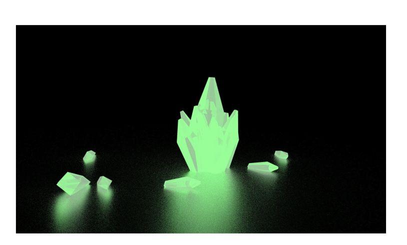 Crystal Growing Kit - Glow in the Dark Glowing
