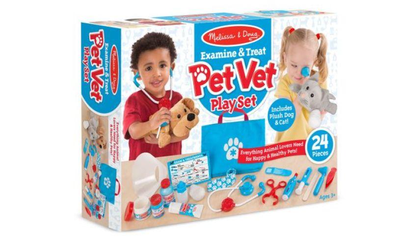 Pet Vet Play Set Box
