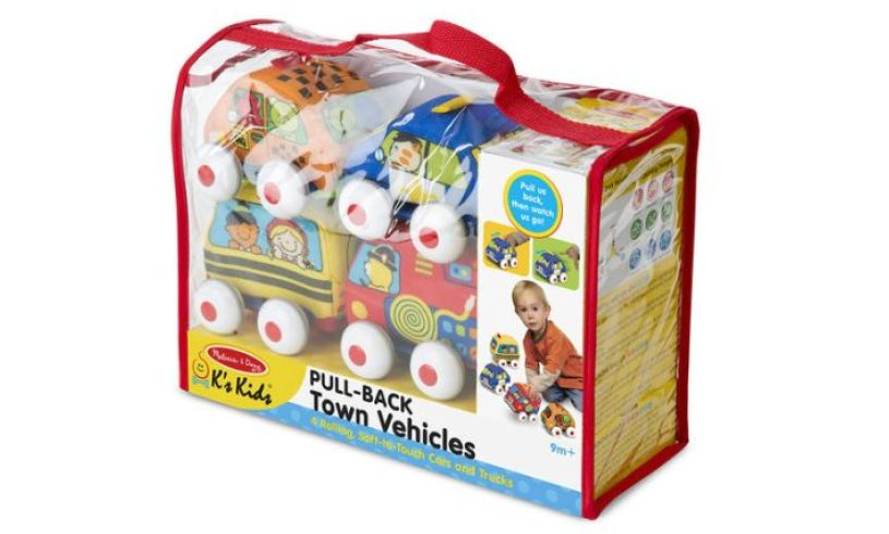 Pull Back Town Vehicles Pack