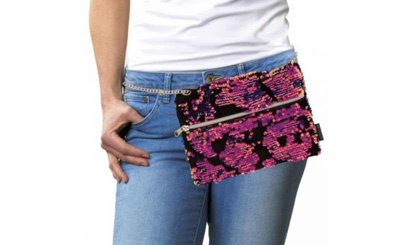 Scattered Magic Sequin Purse Hip
