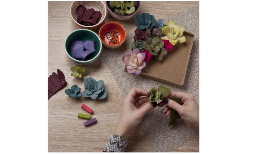 Felt Succulent Craft Kit