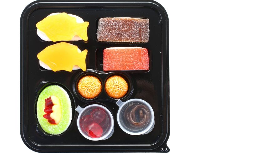 Mini Candy Sushi Tray 2