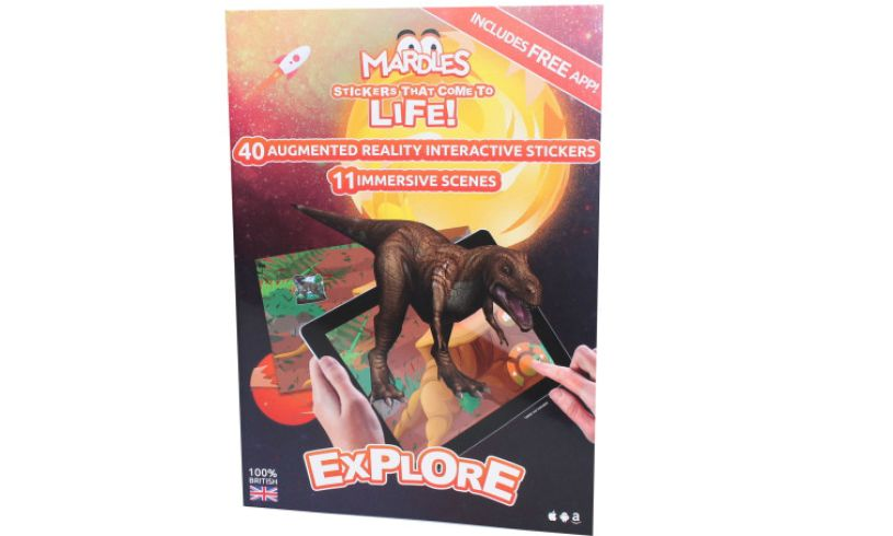 Wildlife augmented reality interactive stickers
