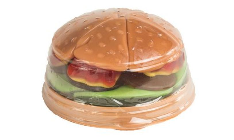 The Original Candy Burger tray
