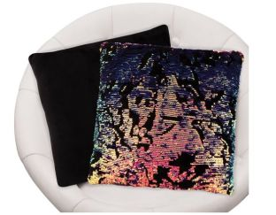 Scattered Magic Sequin Pillow