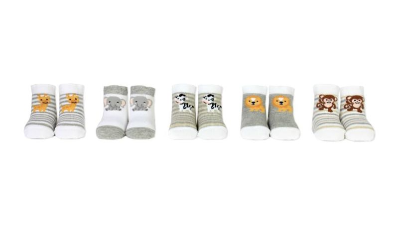 Baby Safari Socks Variety