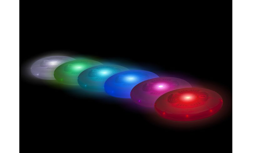 flashflight flying disc color selection
