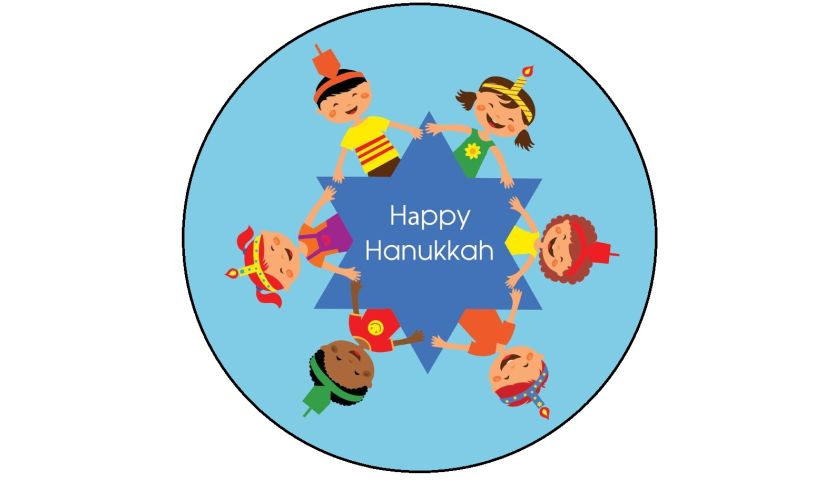 Hanukkah chocolate lollipop chocolateworks design