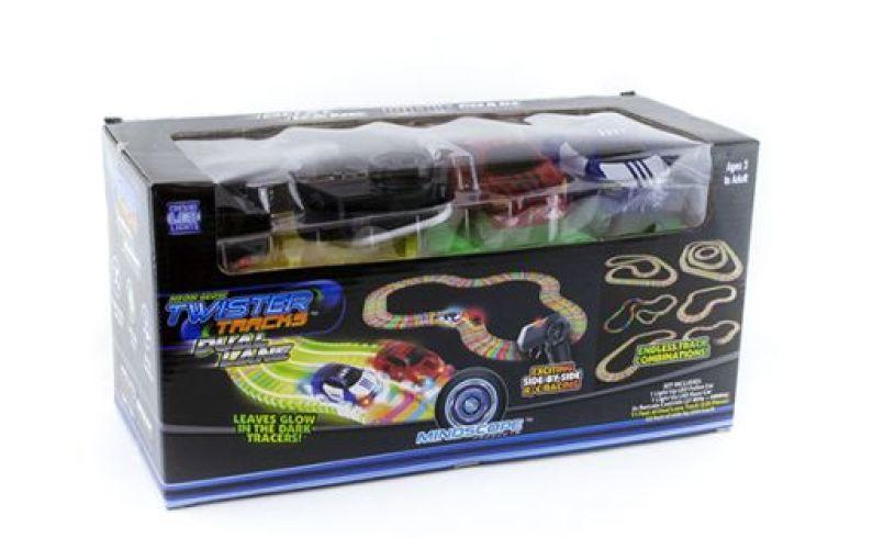 box with twister tracks police car