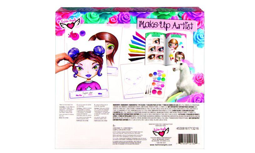 Make-up Artist Sketch Set back