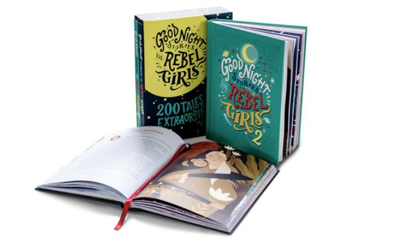 Rebel Girls books two volume set