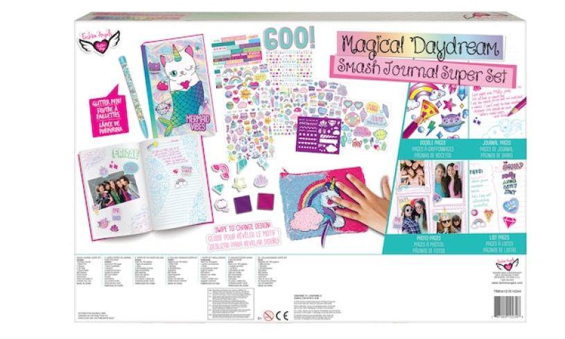 Magical Daydream Smash Journal Kit Back