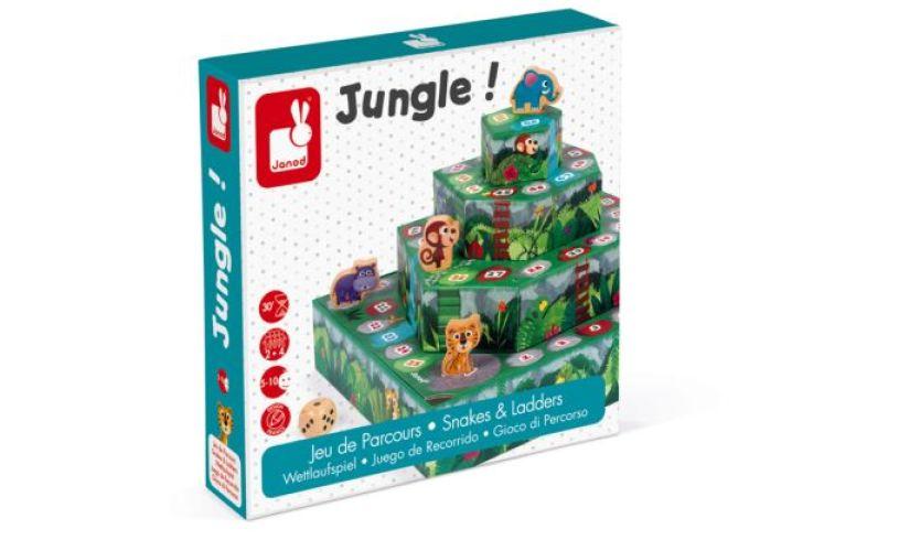 Jungle puzzle 3d box