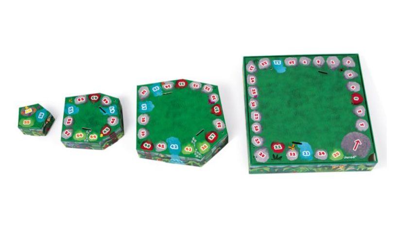 Jungle puzzle 3d levels