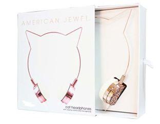 American Jewel Headphones - Rainbow Cat