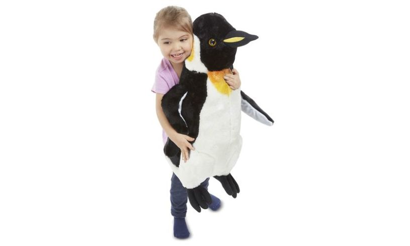 Giant Stuffed Penguin Girl