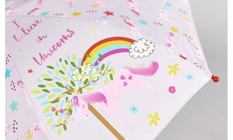 Unicorn Color Changing Umbrella Detail
