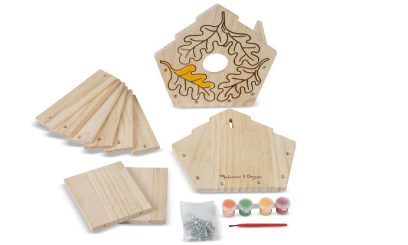 Build Your Own Birdhouse Contents