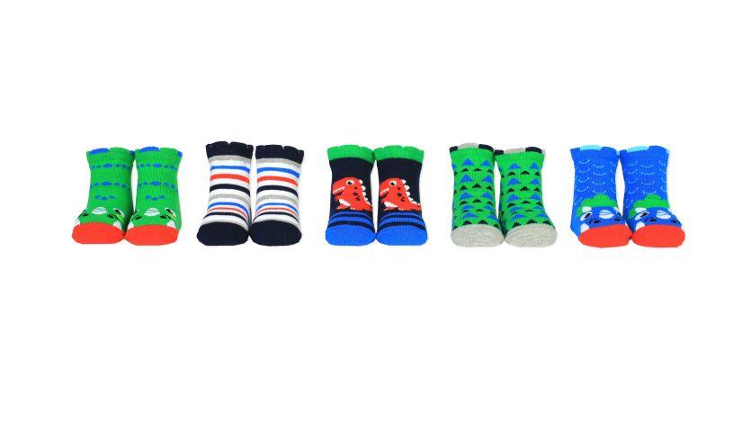 D is for Dinosaur Socks Variety
