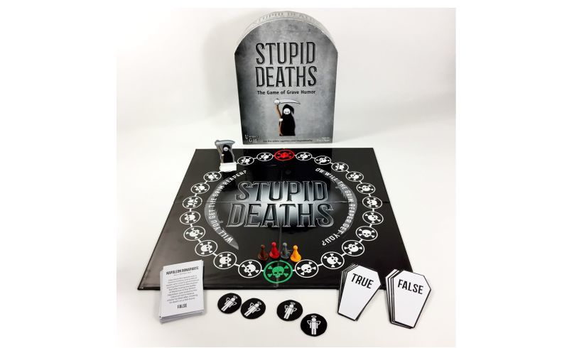 Stupid Deaths frightfully funny boardgame