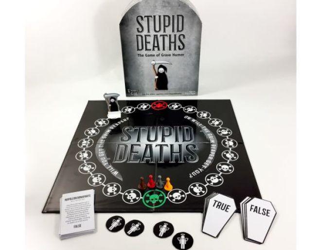 Stupid Deaths frightfully funny boardgame