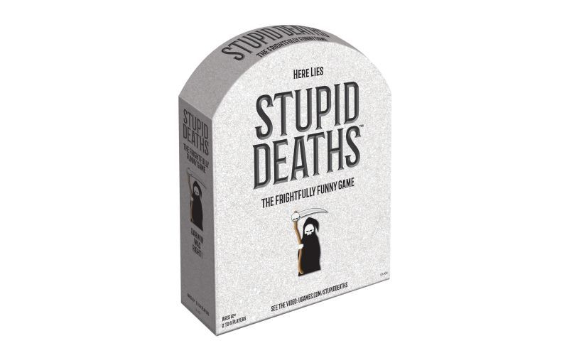 Here lies frightfully funny board game