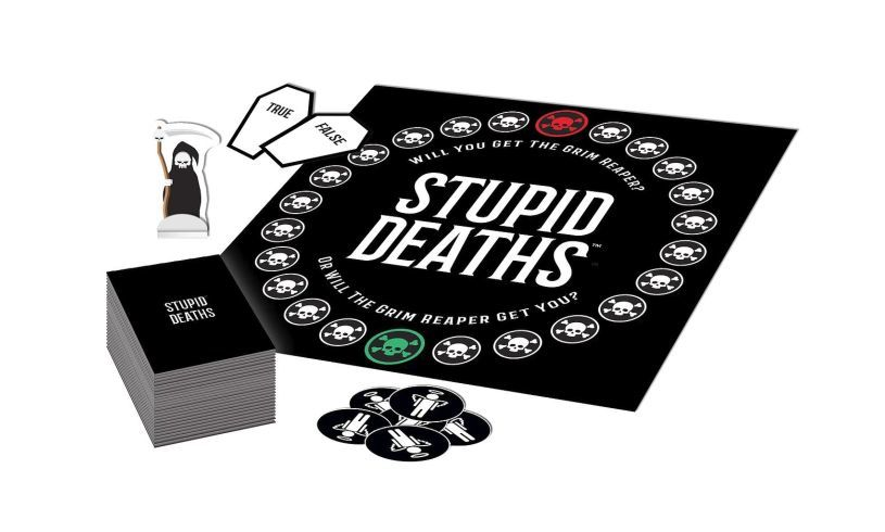 Playing pieces for Stupid Deaths game