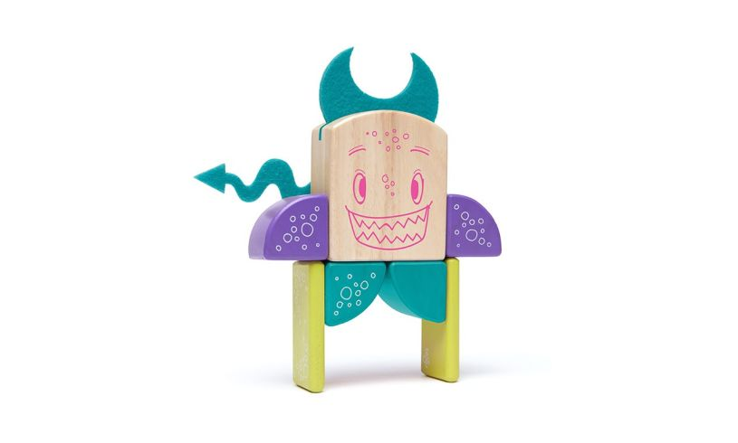 Tegu 8 piece Sticky Monster