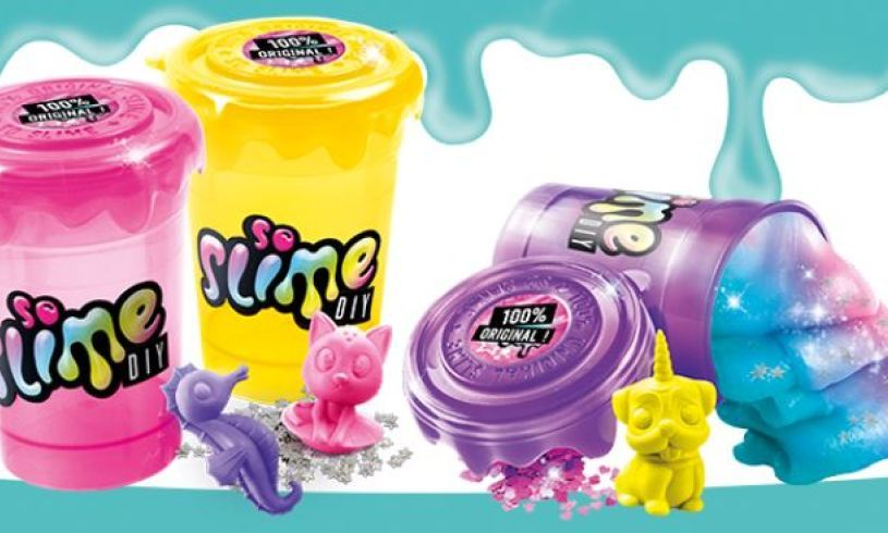 Glittery Neon Slime