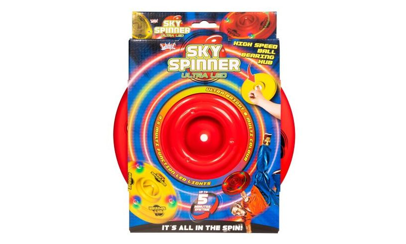 sky spinner ultra LED track disc