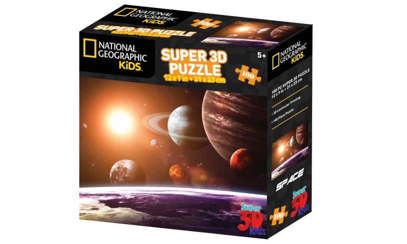 solar system super 3d puzzle