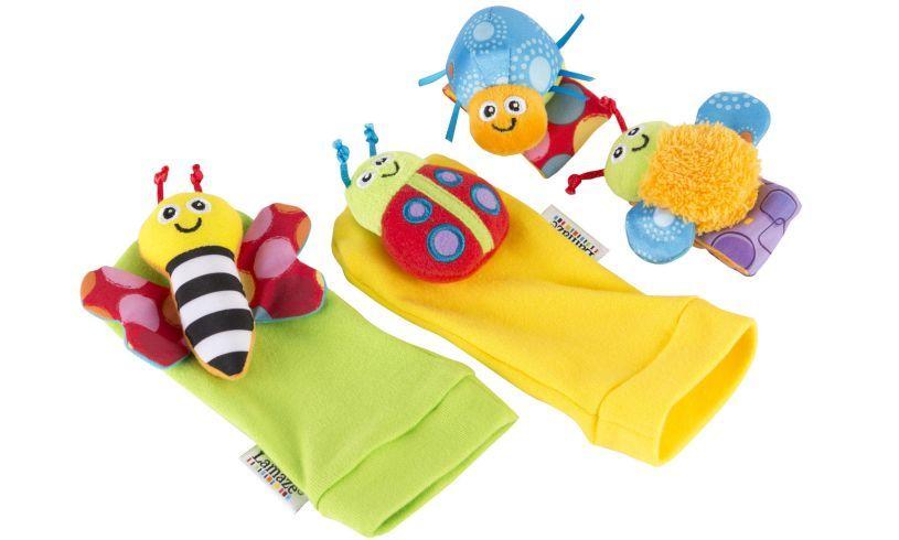 Gardenbug Foot Finder & Wrist Rattle Set