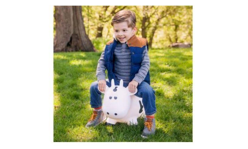 Farm Hopper bouncy cow