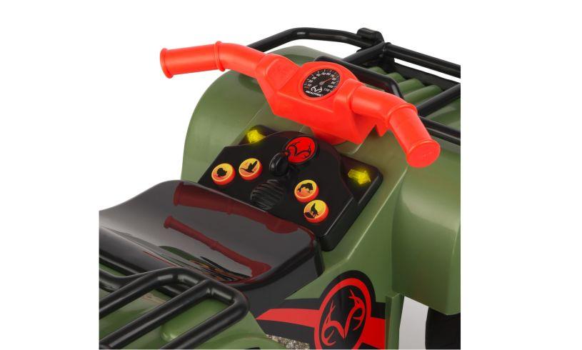 Sit-n-Scoot ATV - Realtree Camo Controls