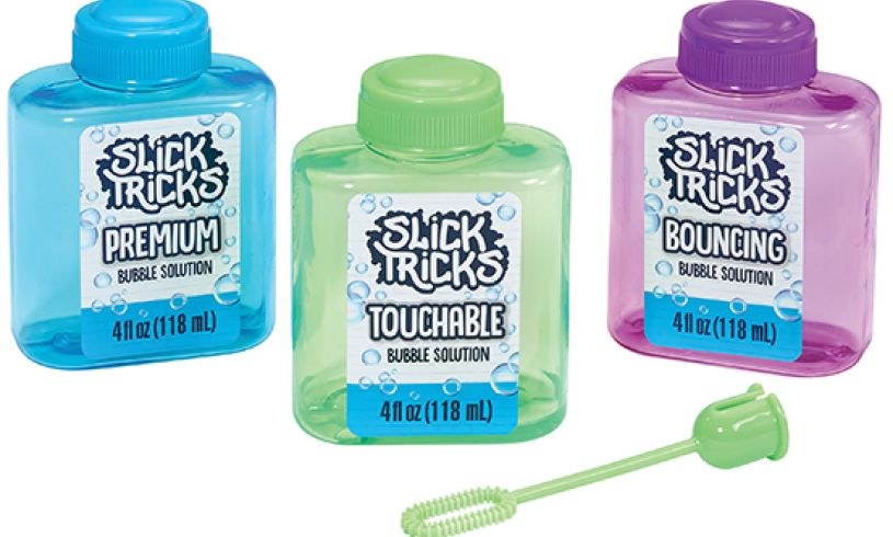 three bubble solutions slick tricks