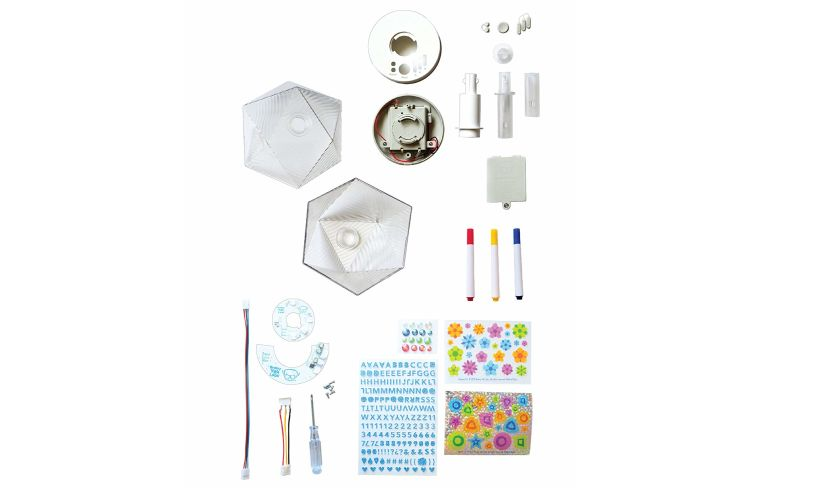 materials to make party lamp