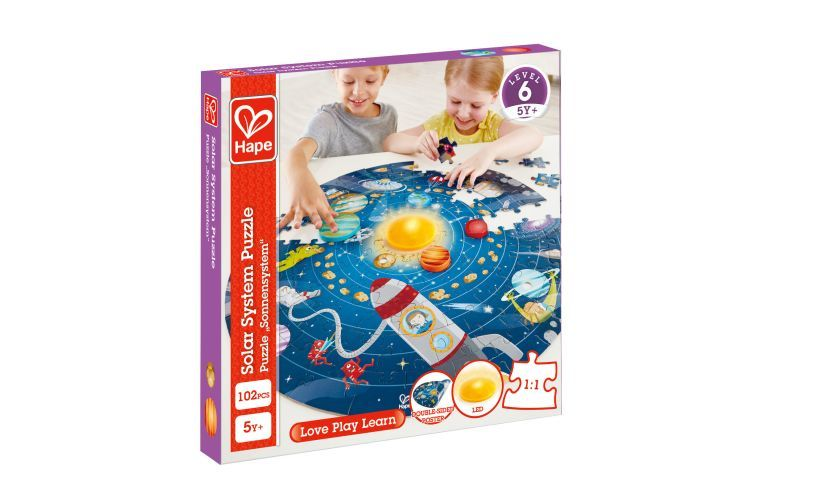 Solar System Puzzle Box