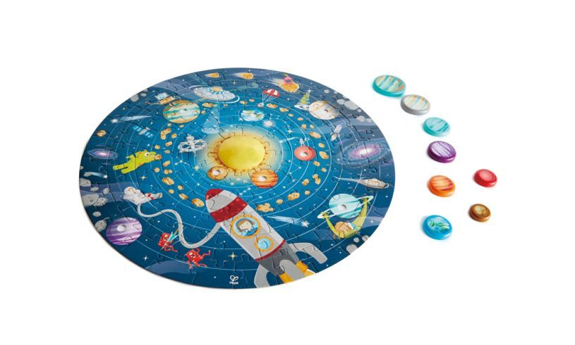 Solar System Puzzle Detail