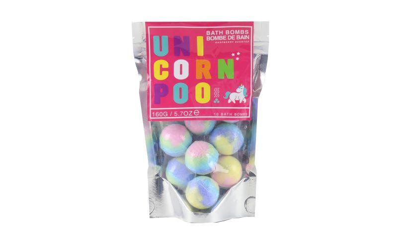 Bath Bombs - Unicorn Poo bagged