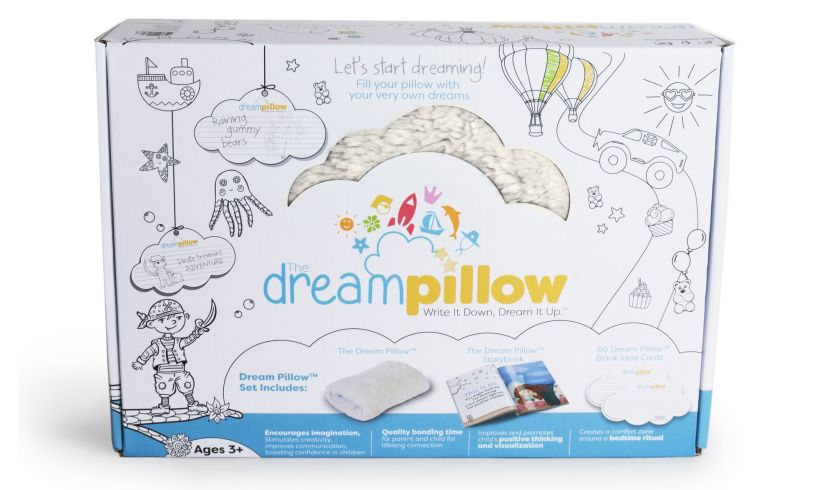 box with dream pillow