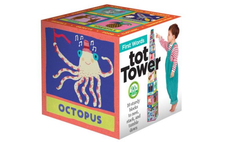 box with tot tower
