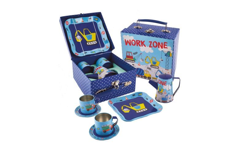 Work Zone - Construction Tea Set