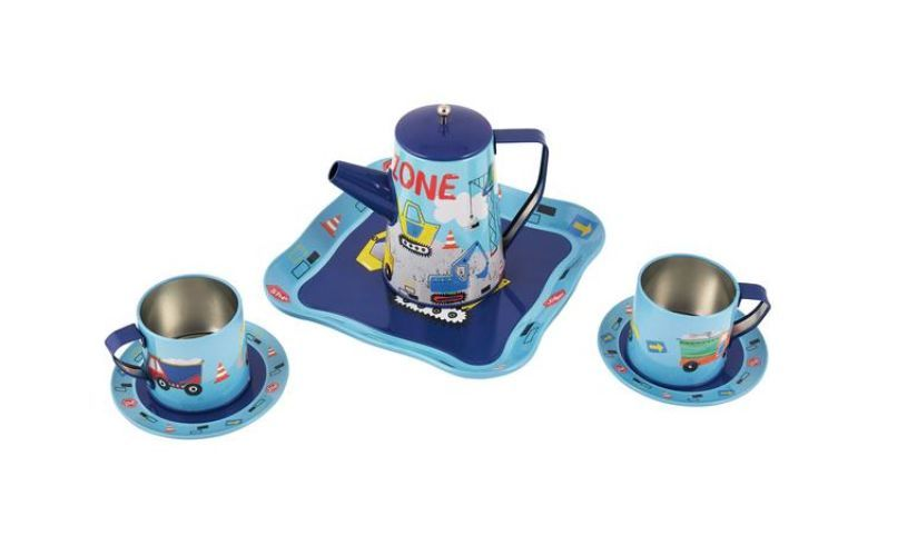 Work Zone - Construction Tea Set Contents