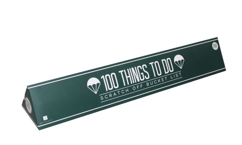 100 Things To Do - Scratch Off Bucket List boxed